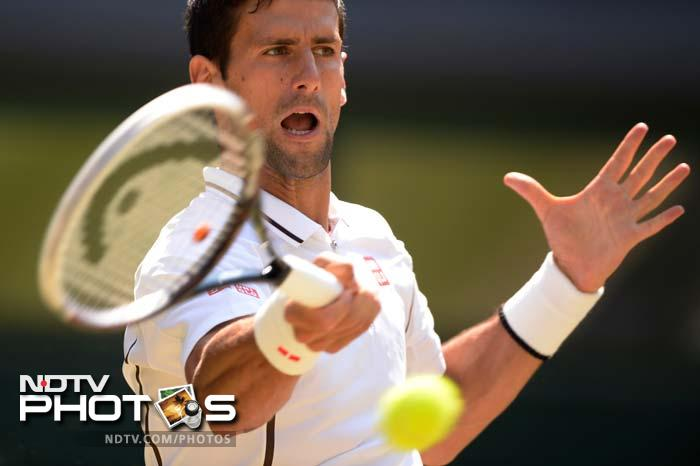 The start of the second set saw Novak Djokovic showcasing his brilliance in the first half till he gained a 4-1 lead with two breaks of serve. But that's when Murray just stepped up his game a notch.