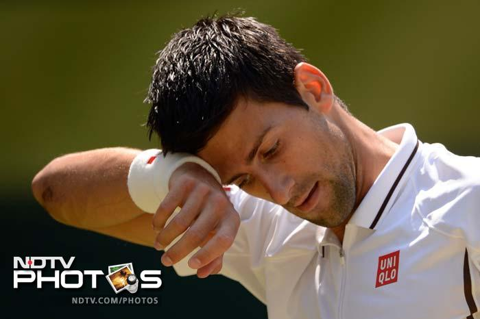 The top seed Serbian was favourite to lift his seventh Grand Slam title but he was made to sweat by the World No.2 of Great Britain from the very start of the match. Djokovic saved three break points in the first game of the match and the road ahead for him became tougher and tougher.