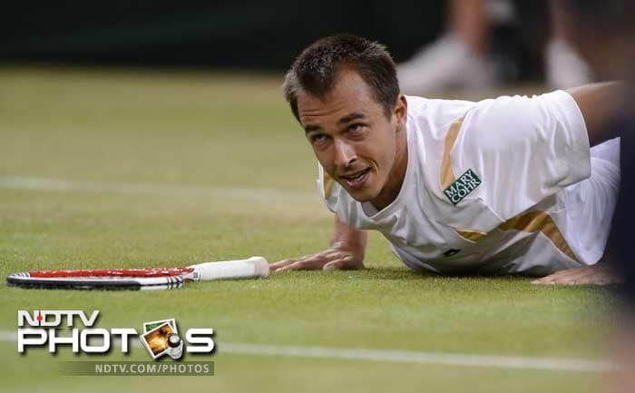 Rosol hit 22 aces to claim a win which made him the lowest-ranked player to defeat Nadal in a major tournament.