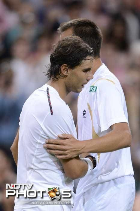 It can be seen as a one-off result but Lukas Rosol's (ranked 100) win against Rafael Nadal showed champions can be brought down too, of course with some luck and a whole lot of courage.<br><br> Nadal fans are advised to click out! (AFP images)