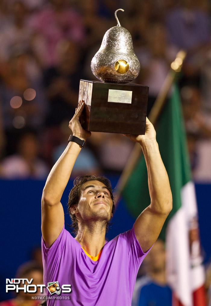 The 11-time major champion broke Ferrer five times from eight opportunities, winning 58 per cent of his return points. He improved his record against Ferrer to 17-4.