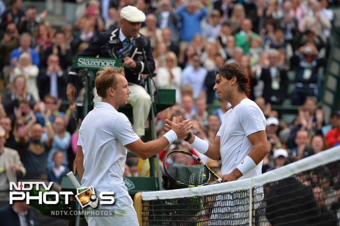 Despite back-to-back Wimbledon flops and a nagging knee injury, Rafael Nadal insisted that he can still lift a third All England Club title. He vowed to come back stronger and fitter next year.