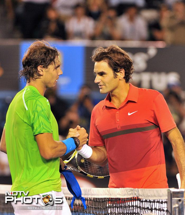 The match was the 10th grand slam encounter between Nadal and Federer, putting them equal with Ivan Lendl and John McEnroe for most matches played at majors.