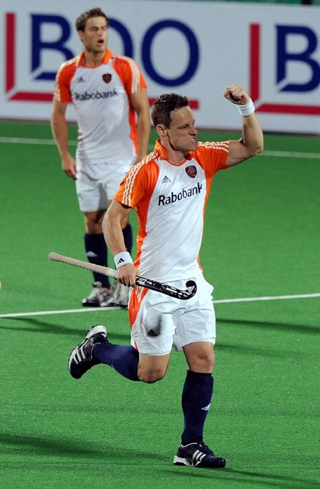 Fourth ranked the Netherlands failed to score in the first half but came back strongly after the break with some attacking hockey and maintained their clean slate in the tournament. (AFP Photo)
