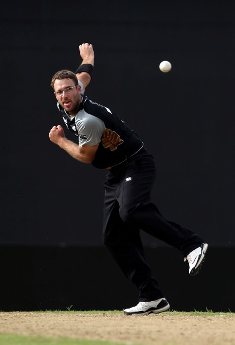 <b>DANIEL VETTORI (captain)</b><br><br> <b>Age: </b>32.<br><b>Role: </b>Left-hand batsman, slow left-arm orthodox<br> <b>Stats: </b>ODIs 266, Runs 2,052, Highest 83, Average 17.24, Strike-Rate 81.46, Centuries 0, Fifties 4, Catches 76, Wickets 279, Best bowling 5-7, Average 31.27, Economy-Rate 4.13<br><br> Often seen as a defensive captain, but rated as one of the top left-arm spin bowlers in the world and number one in the ICC world ODI bowling rankings. A strong mid-lower order batsman with a reputation for being able to produce a big innings when required. Will step down as New Zealand captain at the end of the World Cup.(Photo: Getty Images)