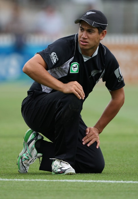 <b>ROSS TAYLOR</b><br><br> <b>Age: </b>26.<br><b>Role: </b>Right-hand batsman.<br> <b>Stats: </b>ODIs 99, Runs 2,731, Highest 128 not out, Average 35.01, Strike-Rate 80.75, Centuries 3, Fifties 19, Catches 73.<br><br> An aggressive top-order batsman who is particularly strong with the pull shot, but out of touch in the just concluded ODI series against Pakistan. A keen student of the game and popular with the other players, Taylor is a front-runner to replace Vettori as New Zealand captain.(Photo: Getty Images)