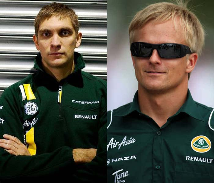 <b>Caterham:</b> The Team Lotus from last season has been rechristened Caterham from 2012 onwards. The Tony Fernandes-owned team has retained Heikki Kovalainen (R) but brought in Russian Vitaly Petrov (L) for Italian Jarno Trulli. The Italian had been re-signed by Caterham for the 2012 season before being dropped in favour of Petrov, who it seems has more sponsors backing him. It was hardly a surprise then when Russian petrochemical company Sibur joined Caterham as a sponsor just three days after the team announced its association with Petrov.