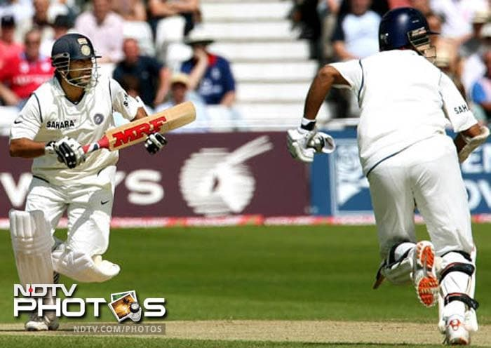A string of half-centuries from the Indian batsman in their reply meant that although Vaughan returned to score 124, India ended the match by a margin of 7 wickets.