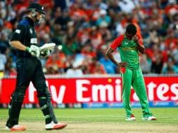 New Zealand Beat Bangladesh in Nervy World Cup Battle