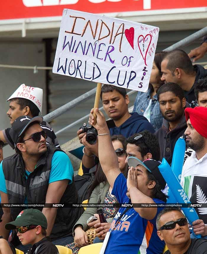 Indian fans were optimistic and even predicted the World Champions to make a match of it. <br><br>Unfortunately for them, it would not quite be a consolatory win.