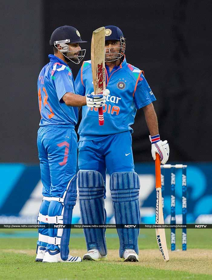 While Kohli was in the middle - with MS Dhoni - India remained in the hunt. Once he departed though, the chance of a win or even a fight faded completely.<br><br>India were eventually bowled out on 216 in 49.5 overs.