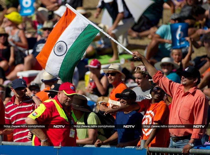 Indian fans once again rejoiced when Williamson fell to Ravindra Jadeja.