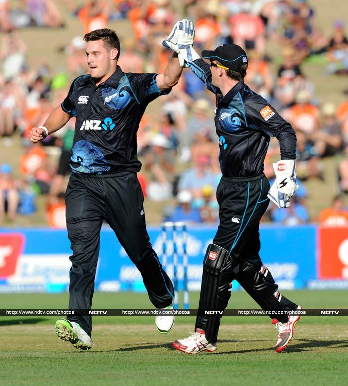 McClenaghan finished with figures of 4/68, helping his team upstage the number 1 ODI side.