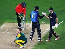 Photo : New Zealand Defeat South Africa in Thriller, Enter World Cup Final