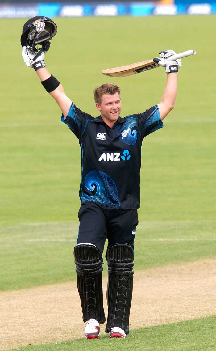 Corey Anderson rose to prominence after smashing the fastest hundred in ODI history. The all-rounder is a menace with both ball and bat and is looking to make a mark against India.
