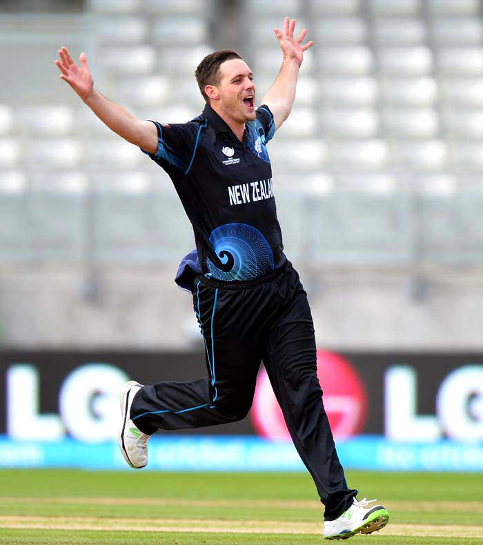 Mitchell McClenaghan has been a revelation in ODIs taking 43 wickets in just 18 games. The left-arm medium-fast pacer is an excellent limited over bowler and will hope to reach greater heights against India.