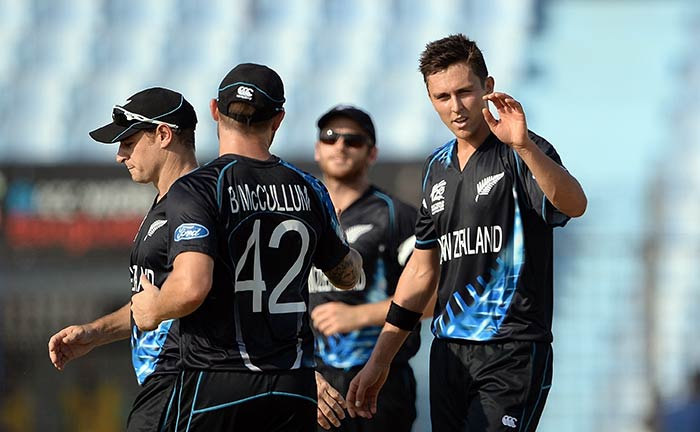 Trent Boult, who came in place of Tim Southee, finished with figures of 1/25.