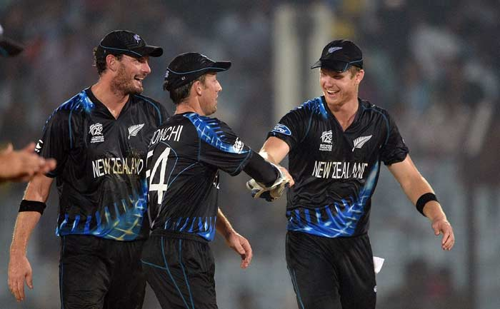 Jimmy Neesham (3/20) to bagged three wickets, two of which came in the final over as Sri Lanka were restricted to 119.