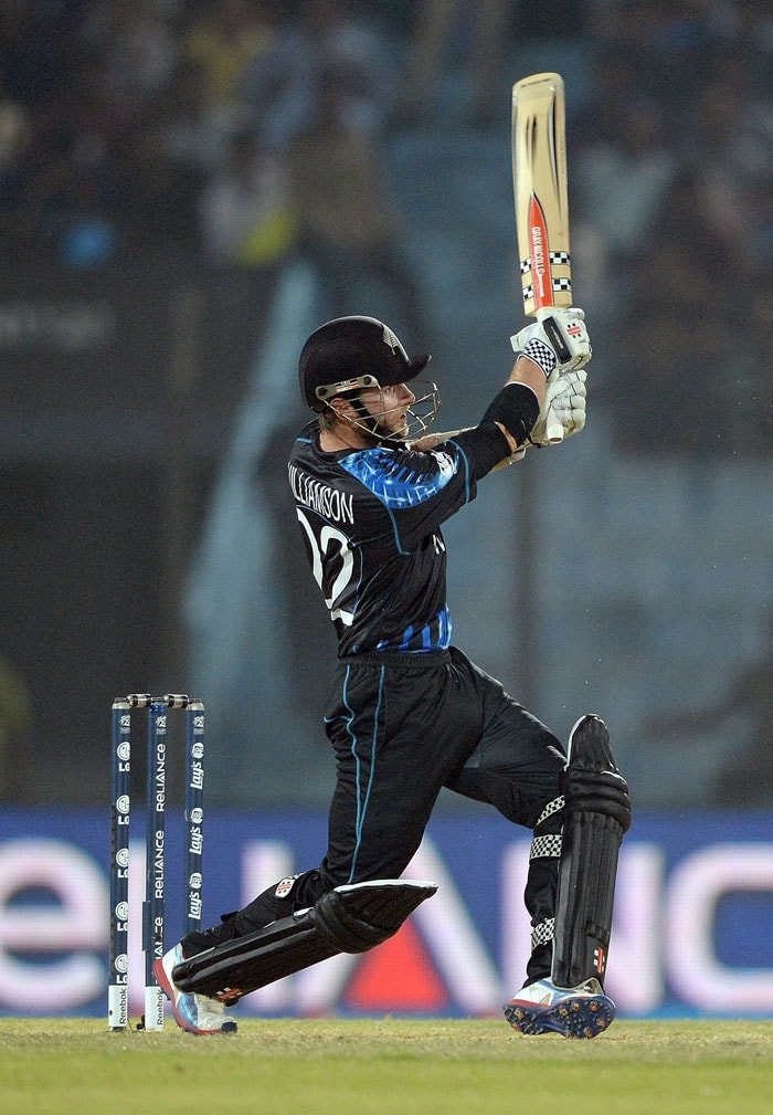 Kiwi opener Kane Williamson fought a lone battle as the wickets kept tumbling at the other end.