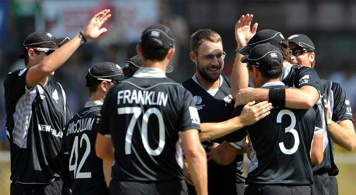 This after the Kiwi bowlers picked regular wickets to not allow the opposition to settle at any point in the match. (Getty Images)