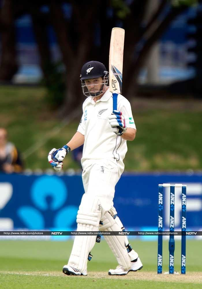 After Taylor's century, New Zealand wicketkeeper BJ Watling scored a crucial 65 to take Kiwis to a sizeable total.