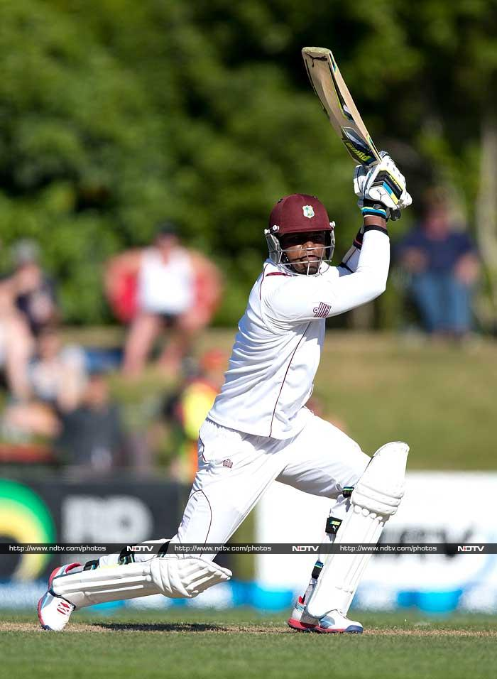 The other notable contribution came from Marlon Samuels, who scored 60 in the first innings.