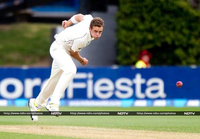 West Indies batsmen failed again in their second innings and were shot out for 175 thanks to Trent Boult's 4/40 and Tim Southee's (in pic) 3/24 that helped Kiwis crush the hosts by an innings and 73 runs.