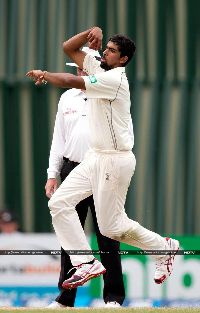 For New Zealand, leg spinner Ish Sodhi has two wickets while Tim Southee, Trent Boult, Neil Wagner and Corey Anderson have one each.