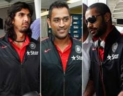 Photo : Team India arrives in the land of the Kiwis