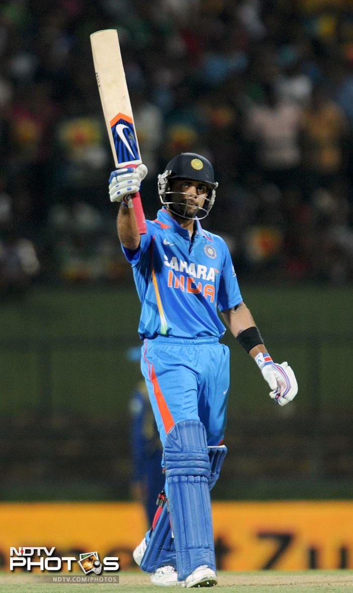 It was left to Ajinkya Rahane and Virat Kohli to stabilise the innings after the early jolt. Rahane did provide surety but Kohli was the one upping the ante. He scored his first T20 international 50 in process and ensured that India reach a respectable total atleast.