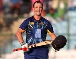 CLT20: Neil Broom's special ton blows Perth Scorchers away