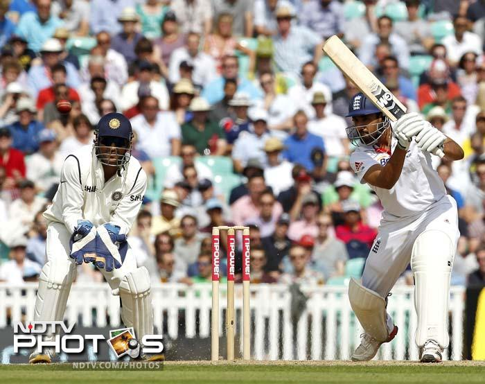 There were some innings of worth from England before the break as Bopara remained unbeaten on 44.