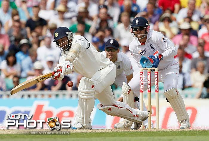 Amit Mishra was the more aggressive of the two as he too slammed a fifty and hit confident shots to the fence.