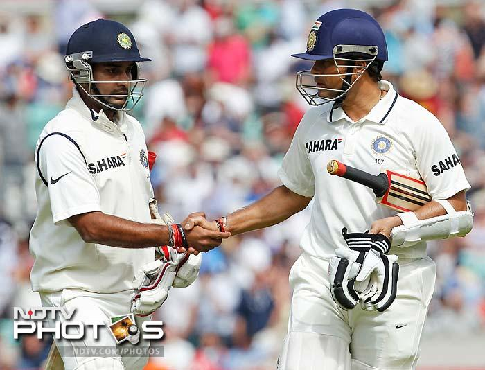 The two stitched together a vital partnership of 144 runs and looked to enforce a draw although a lot of cricket remained.