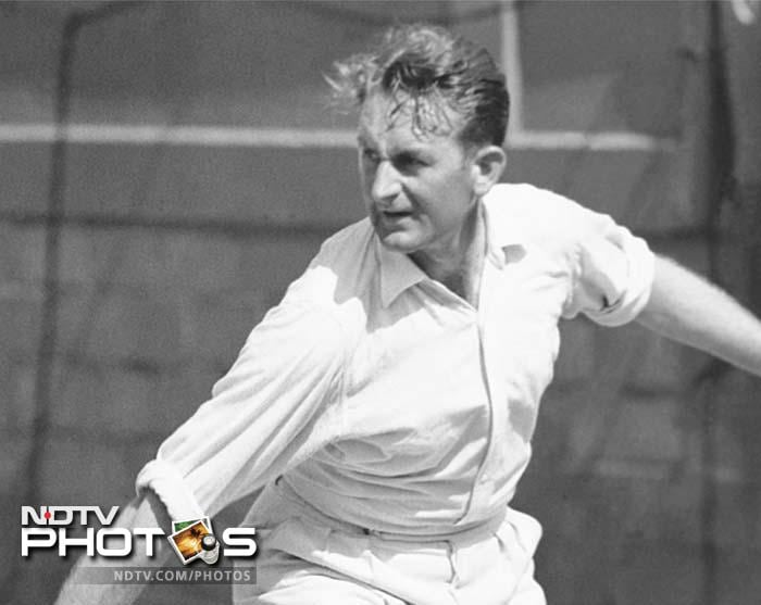 <b>Jack Crawford - Australian Champion 1931, 1932, 1933,1935</b><br><br> Born in 1908, Crawford won the tournament four times. Was also known as Gentleman Jack for his sportsmanship.