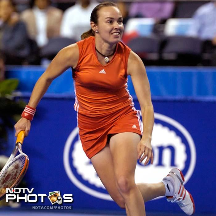 <b>Martina Hingis - Australian champion 1997, 1998, 1999</b><br><br> The 90s ended on a tremendous high for this player as she claimed the title thrice in three years.<br><br> Making her debut in 1995, the Swiss Miss was the youngest player to win a round at a Grand Slam. The rest fell in her lap though she worked hard and showcased her immense potential.
