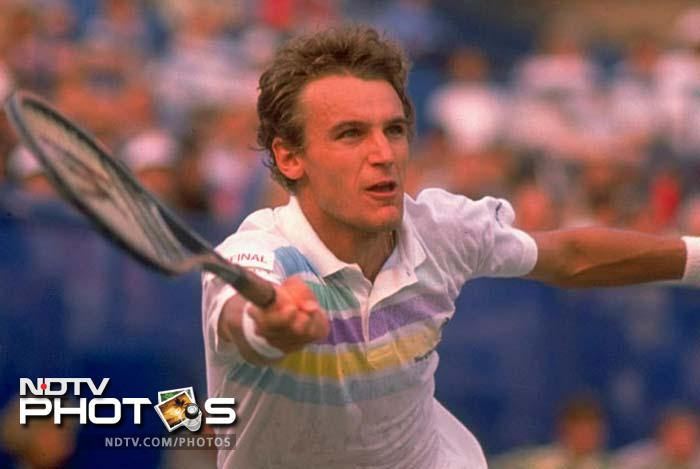 <b>Mats Wilander - Australian Open champion 1983, 1984, 1988</b><br><br> His volleys were a thing that lined people outside the venue just to get a glimpse of the man himself. Swede Wilander made it count thrice and took the event by storm in the 80s.
