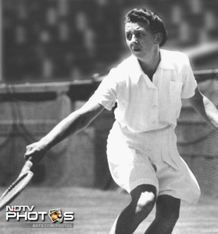<b>Nancye Wynne Bolton - Australian Champion 1937, 1940, 1946, 1947, 1948, 1951</b><br><br> Born in 1916 in Melbourne, she was a prolific player for Australia during the World War 2 days. Some feel she could have been even better but could not travel to play due to the war.