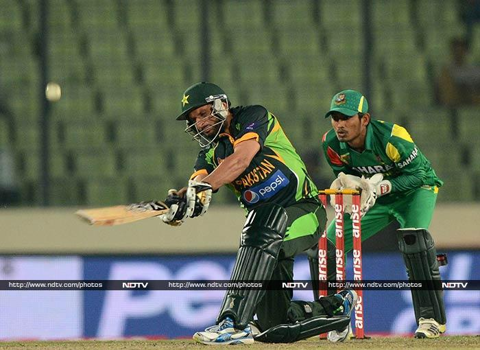 Just when the nail seemed to have been driven into the coffin, Afridi walked in and all hell broke lose. <br><br>The in-form batsman slapped seven sixes to silence a Mirpur crowd that had been celebrating since the start of the match.