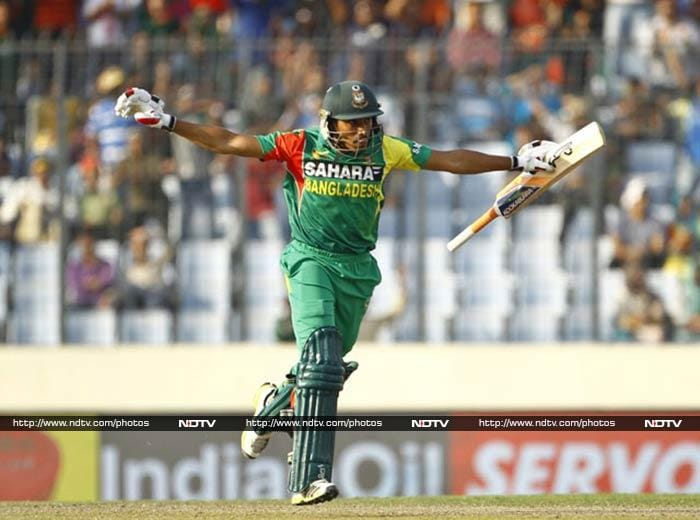 Earlier in the day, hosts had a hard time keeping smiles off as Anamul Haque led the charge after Bangladesh opted to bat.