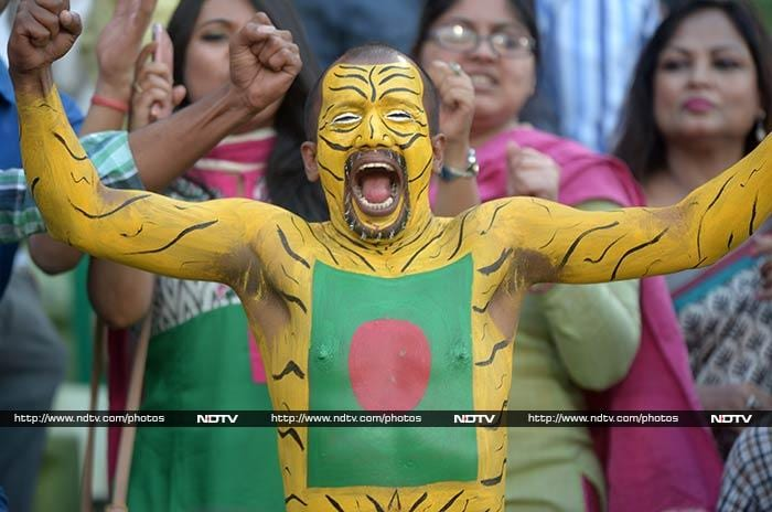 Bangladesh fans though were not too nervous as their team never looked like losing with openers departing, and with Misbah-ul-Haq (4) and Sohaib Maqsood (2) also failing to make an impact.