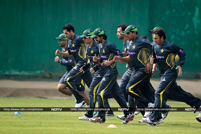The Pakistan team wants to leave nothing to chance. In the last encounter - Champions Trophy match in Birmingham in June 2013, Pakistan lost to India in a rain-curtailed match.<br><br>The time may be perfect for revenge.