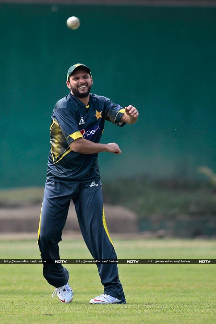 Defending champions Pakistan will look at seniors, including Shahid Afridi (in pic) to come good against India.