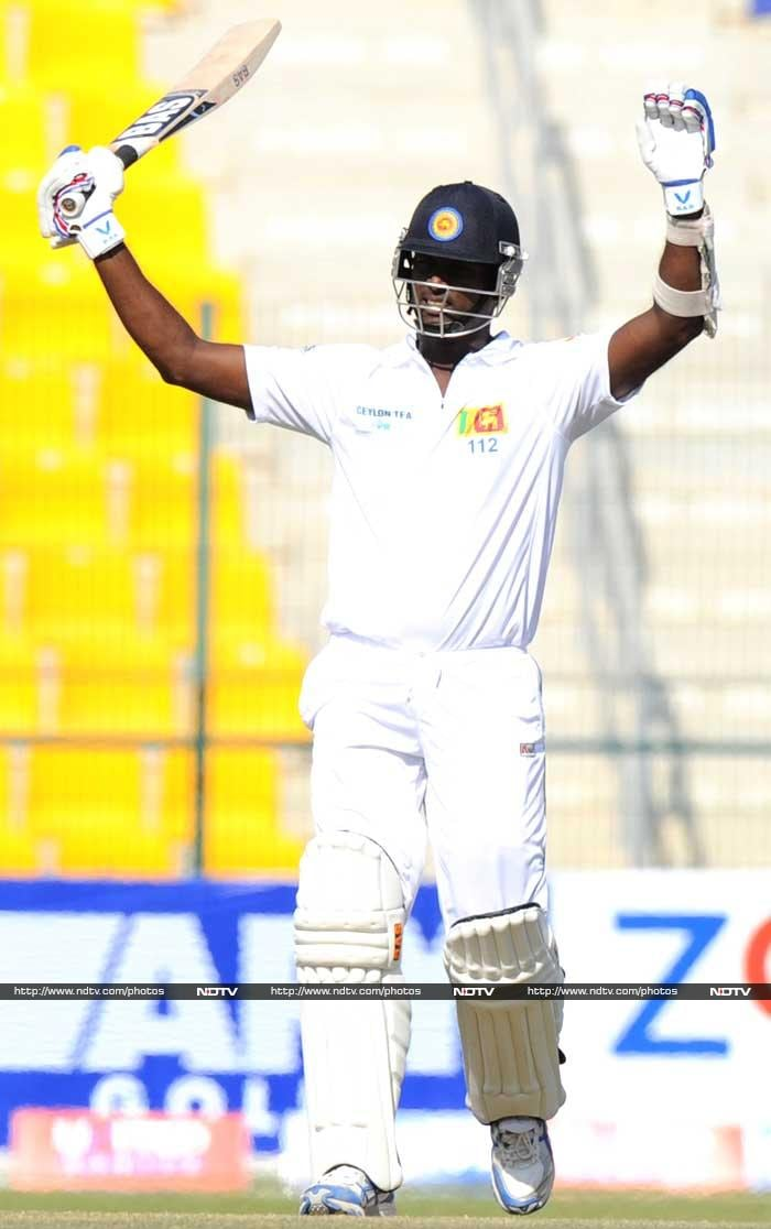 Sri Lanka skipper Angelo Mathews starred in both innings with a 91 in the first innings to go along with a consolidating 157 in the second essay to end the match as the top scorer from both teams.