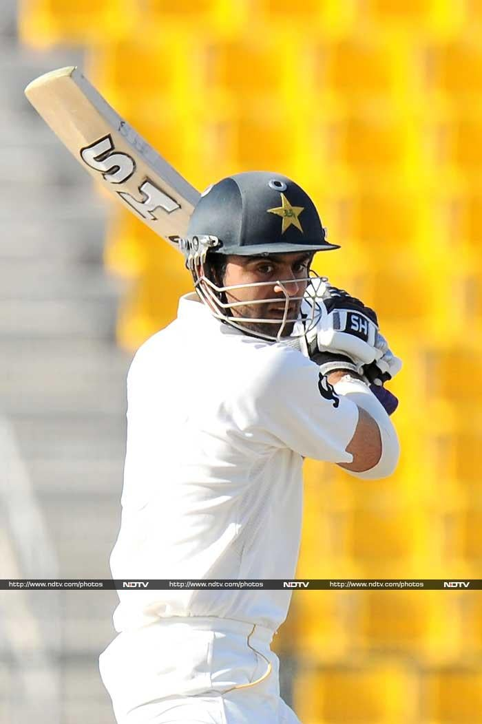 Ahmed Shehzad, playing his maiden Test, scored a fifty and looked the part in the second innings to blunt the Sri Lankan attack on the final day.