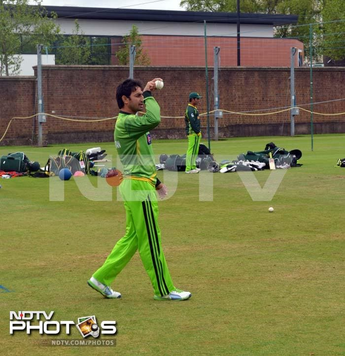 Ajmal will be keen to put his best foot forward and return with impressive figures against India.