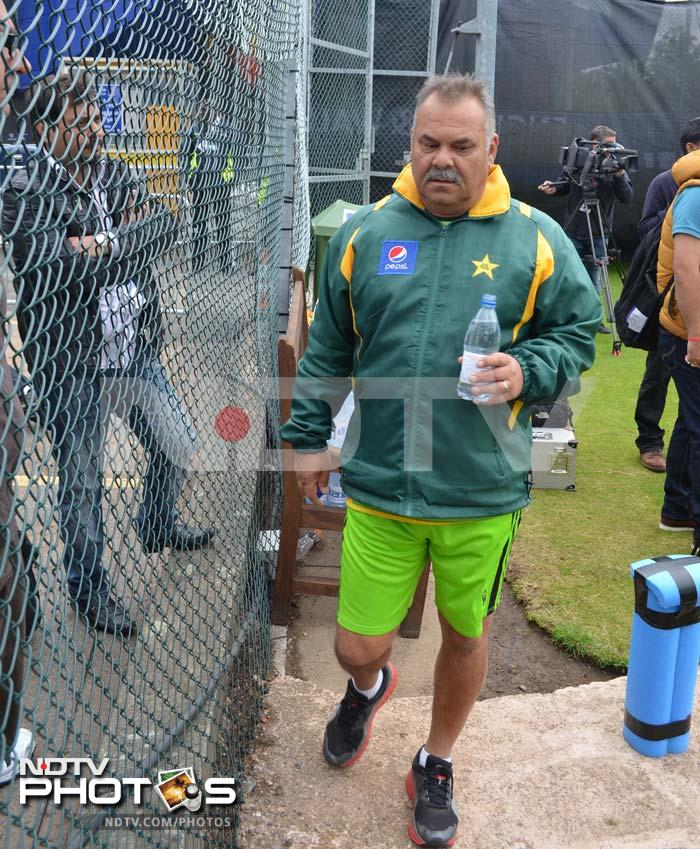 But with scores of 170 (against West Indies) and 167 (against South Africa), coach Dav Whatmore (in pic) may have an uphill task against India - a team with several plus-300 run scores.