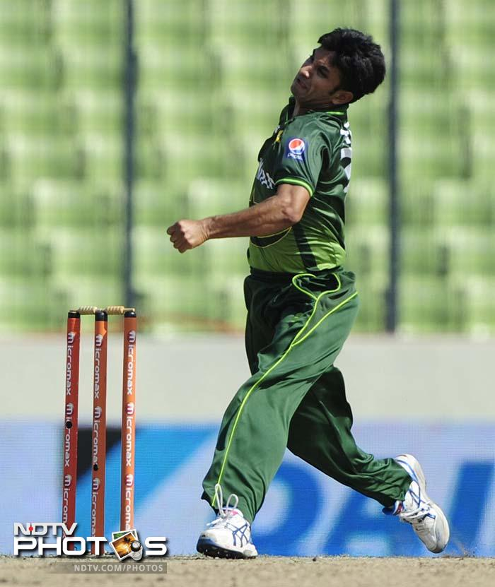 Wickets were taken at regular intervals and the main architect of the collapse was Aizaz Cheema.