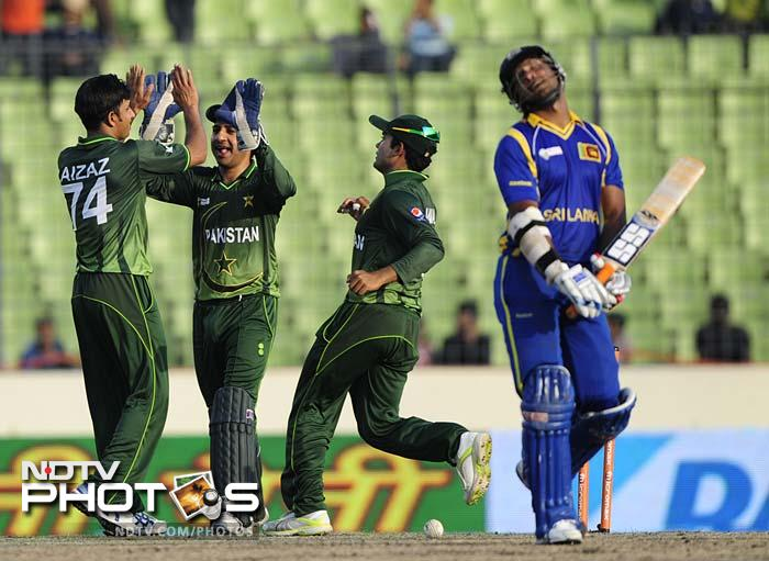 Cheema managed to claim the wicket of Sangakkara (71) to put Sri Lanka in a state of misery from which recovery was close to impossible.