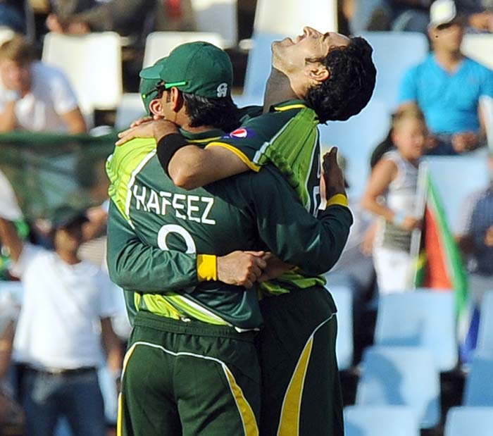 Hafeez's tally however was bettered by Umar Gul who claimed five wickets.